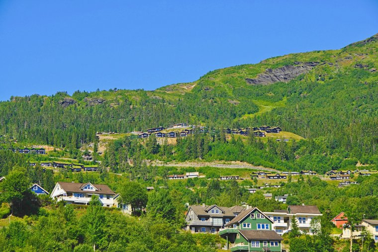 Vossavangen, Vestland county, Norway - ...behind every picture, there is a story...