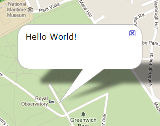 Google Maps API - infowindows (1/3)