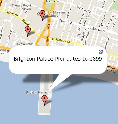 Google Maps API - infowindows (3/3)