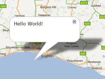 Google Maps API - adding infowindows in response to user clicks (1/2)