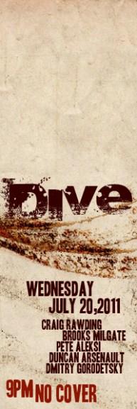 Dive Thursday-2