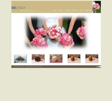 Linda Mikkila Flowers Website, Design and coding