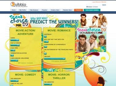 Quibblo Website