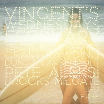 Vincent's Wednesday Sessions Poster