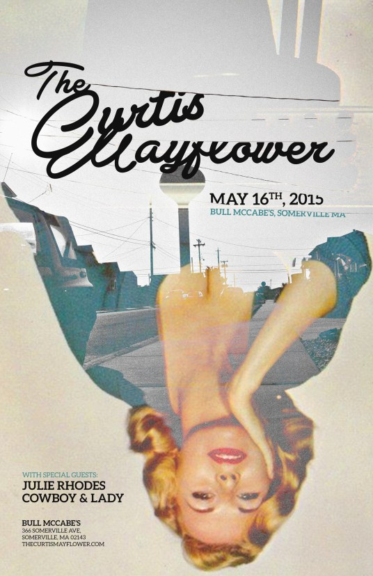 The Curtis Mayflower show poster