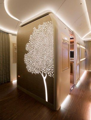 Emirates First Class cabins