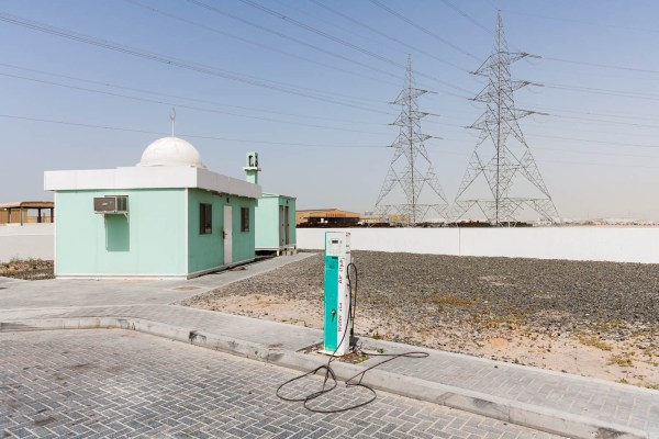 Petrol Station image from the project Portamosque by Duncan Chard