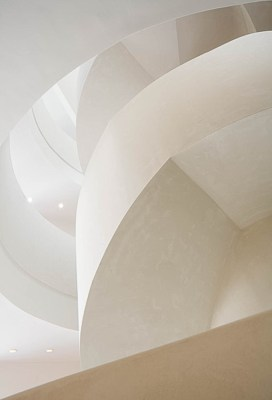 Architectural detailing of the Norman Foster designed Masdar Institute, Abu Dhabi