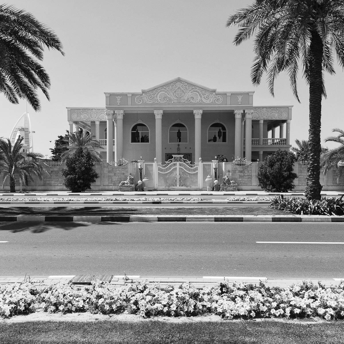 A private villa in Umm Suqeim, Dubai