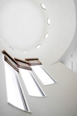 Interior architectural detail of a villa on the Palm Jumeriah, Dubai