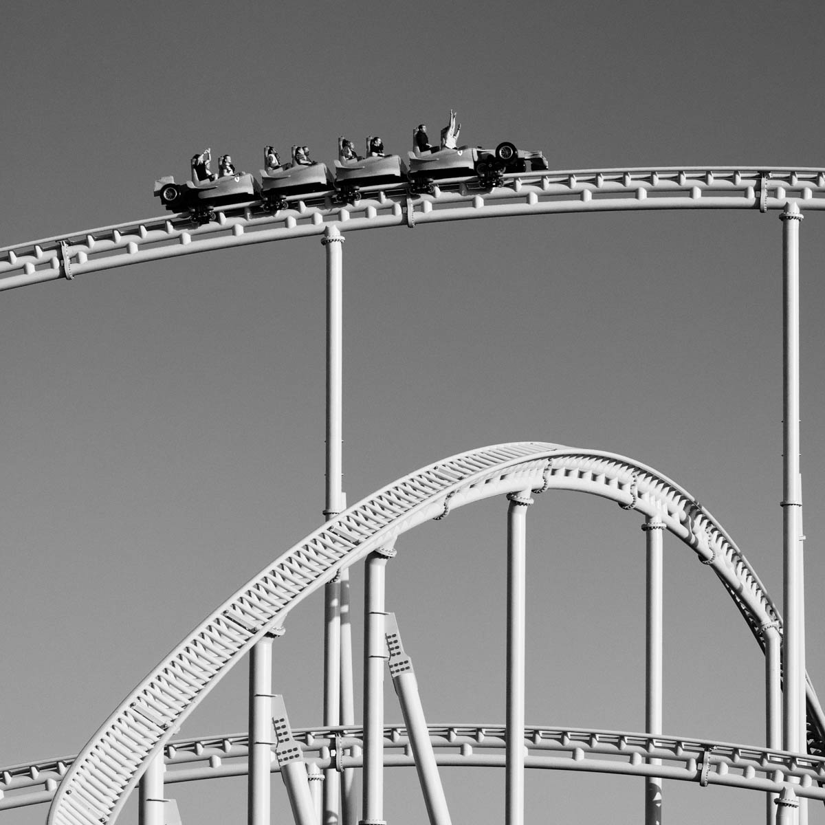 The Fastest Rollercoaster in the World, part of the project From the inside out by Duncan Chard