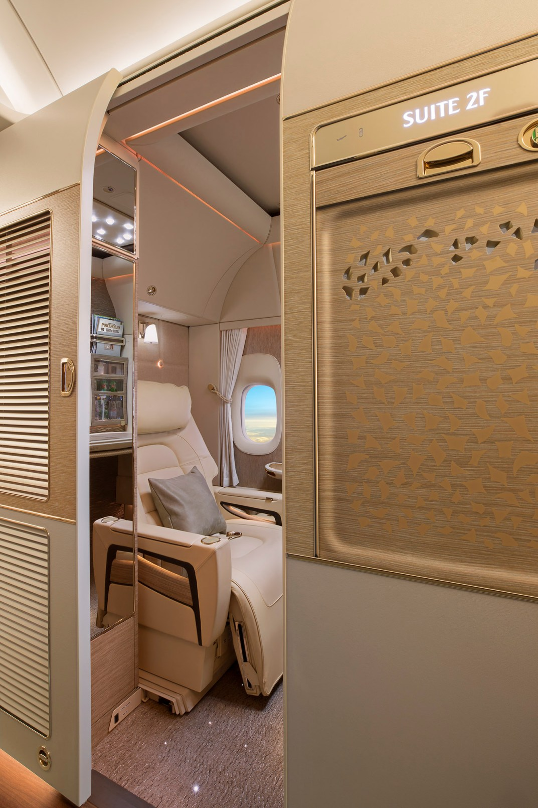 Emirates First Class Cabin