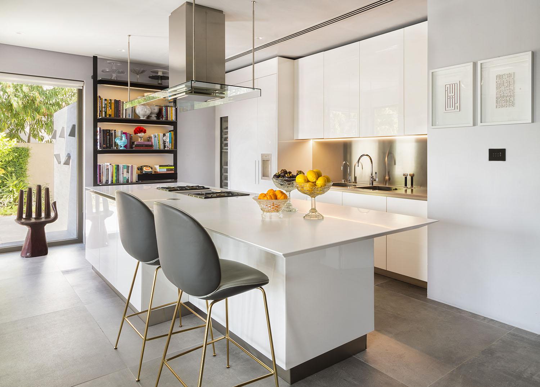 Interior photograph of a Boffi kitchen in Arabian Ranches, Dubai