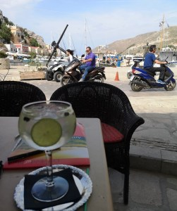 Evening ginand tonic Symi
