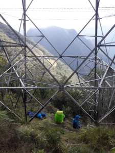 Alison Stirling, artist, 'The Pylons of Peru'