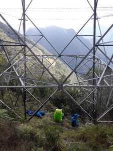 Alison Stirling, artist, 'The Pylons of Peru'