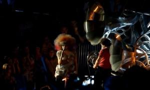 Henry Dagg: Björk Biophilia, Alexandra Palace