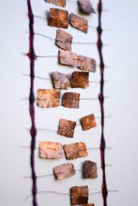 Wendy Daws: Copper, wire, latex and canvas blanket, 2003