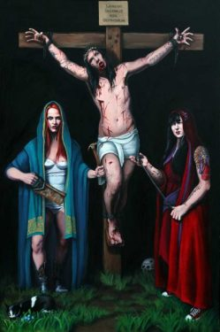 Ella Guru: Backyard Crucifixion, 2016