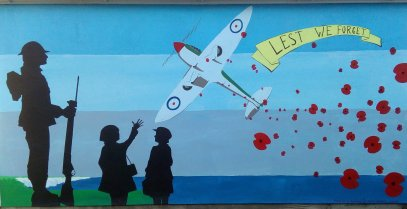 Richard Jeferies: Remembrance mural, Sheerness