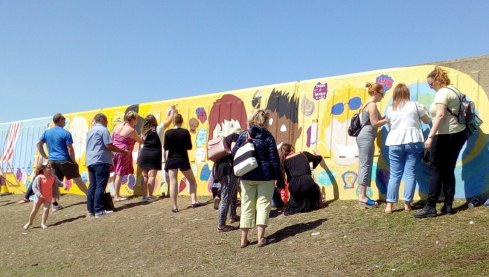 Community Art Project at Beachfields, Sheerness