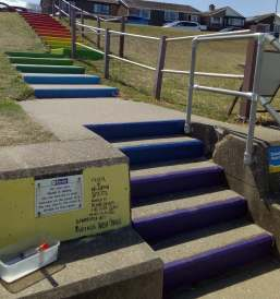 Richard Jeferies: Rainbow steps, Sheerness
