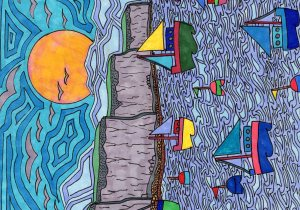 Duncan Grant: Boats and Buoys