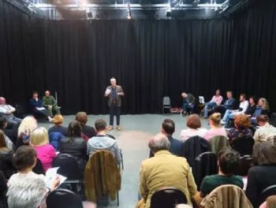 The Plant: Creating Theatre for Society: First performance script-in-hand