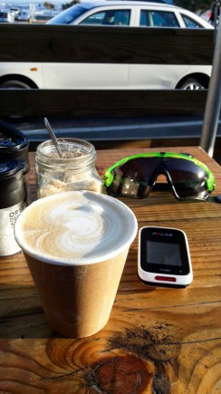 Coffee stop after some intervals