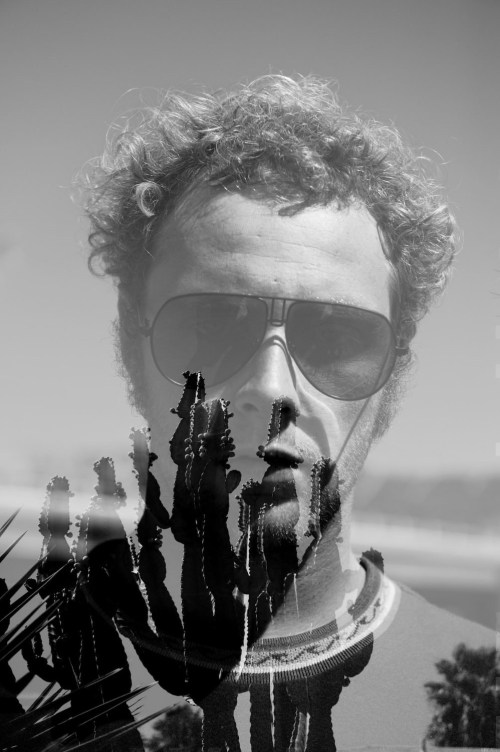 Creed Mctaggart Cactus, Portrait, Black and white, Double Exposure, Duncan, Duncanm, Duncan Macfarlane Photography