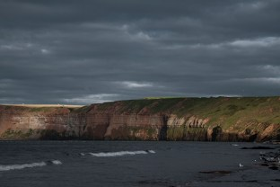 Cliffs at Saltburn by the Sea