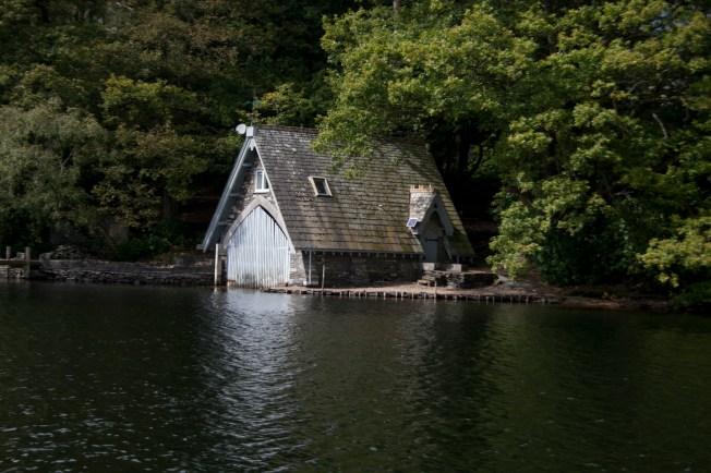 A lovely boat house