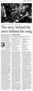 Dave Newspaper Article