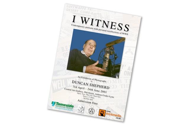V E Day I Witness Poster
