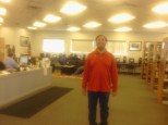Library volunteer Steven Kwasnicki