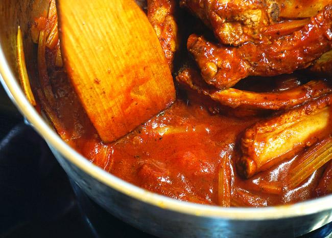 карамелизация помидоров при приготовлении томатного супа