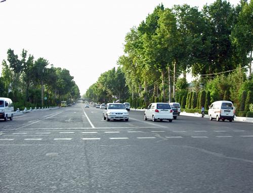 проспект Навои в Андижане