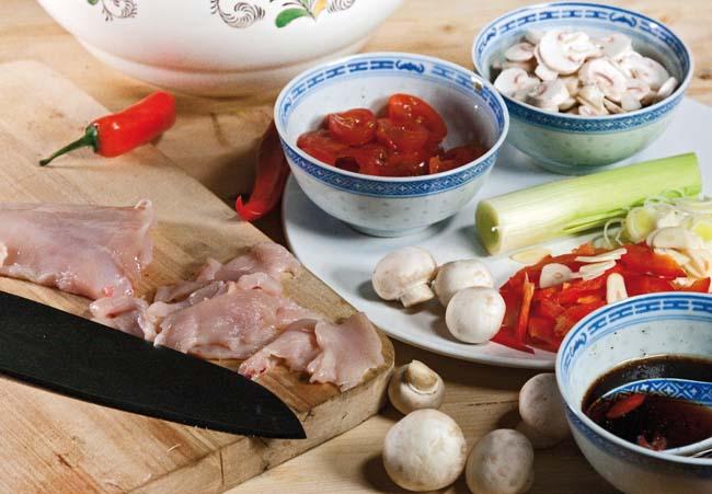 подготовка произвольных компонентов для супов