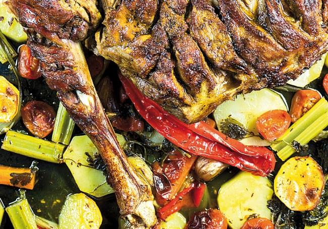степень зарумяненности мяса и овощей, запеченных в духовке