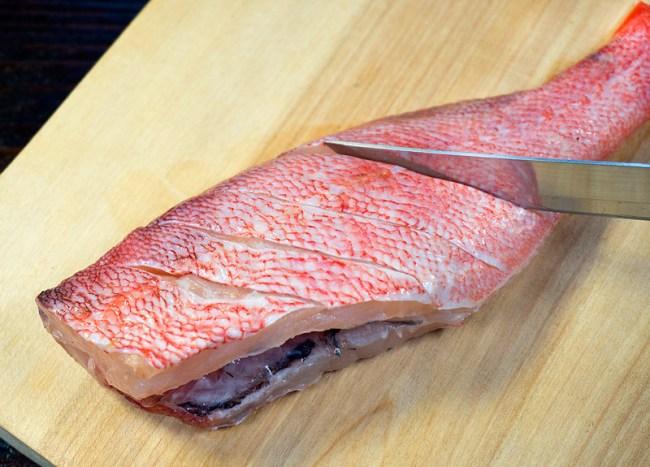 подготовка окуня для рыбного супа