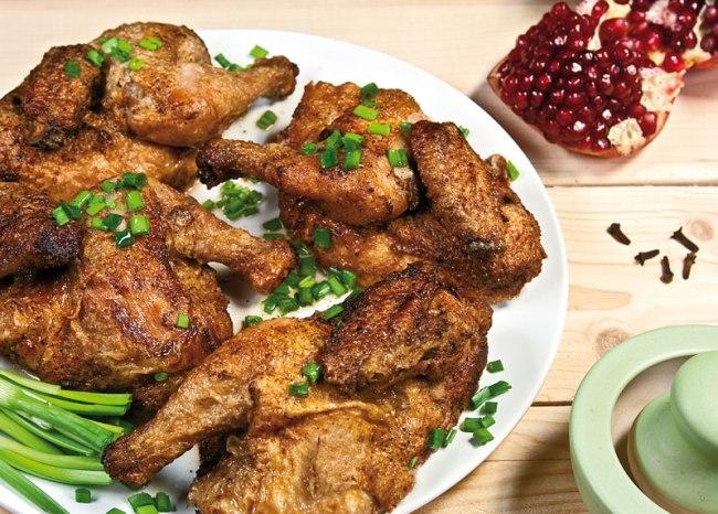 сервировка и подача ароматной курицы
