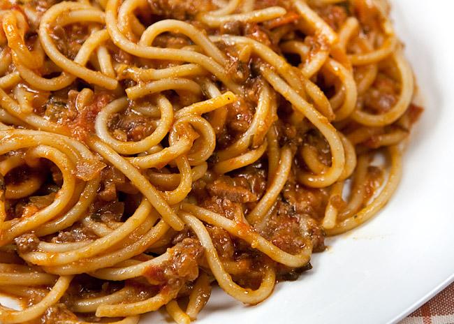 спагетти под нутовым (гороховым) соусом от www.dunduk-culinar.ru