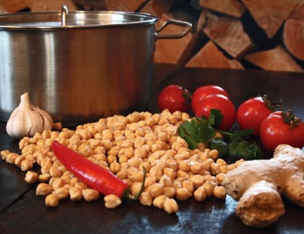 набор продуктов для постного горохового супа