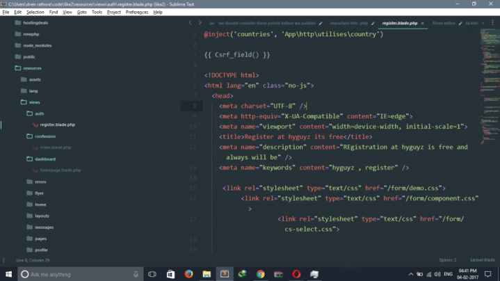 sublime text themes