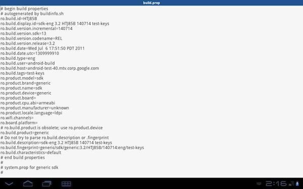 android terminal emulator - Shell Commander