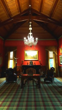 The music room of Larnach Castle