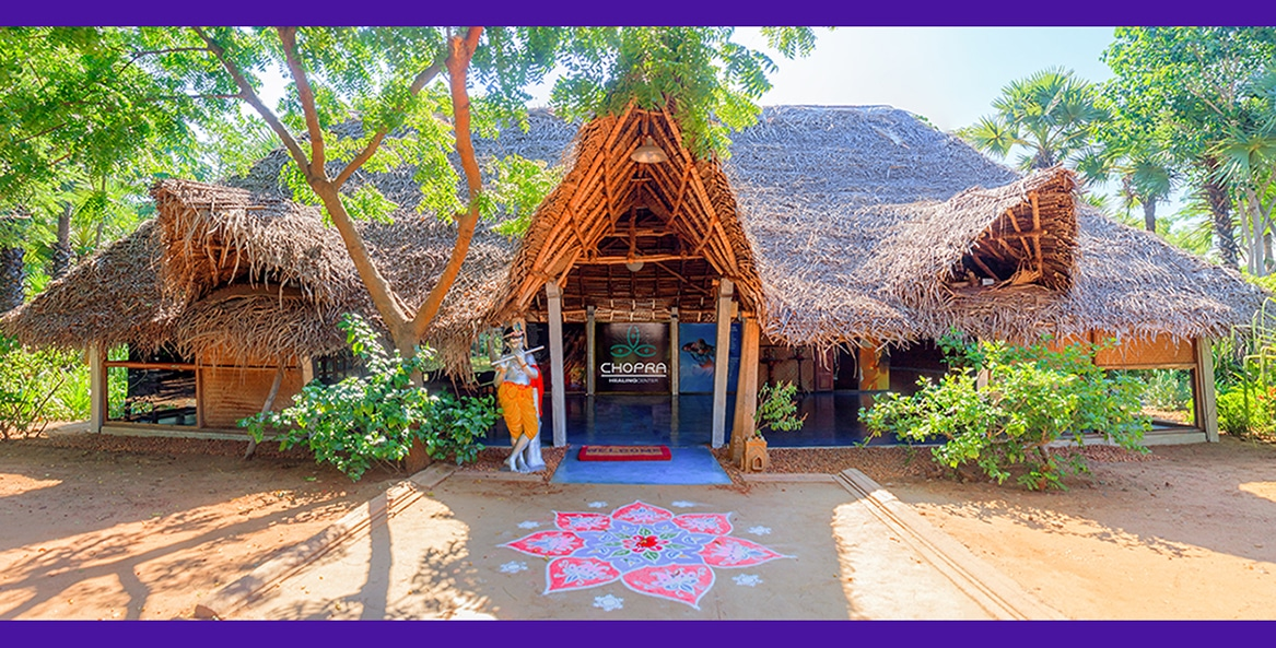 Chopra Healing Center at Dune Eco Village and Spa for Ayrveic Cures and therapies
