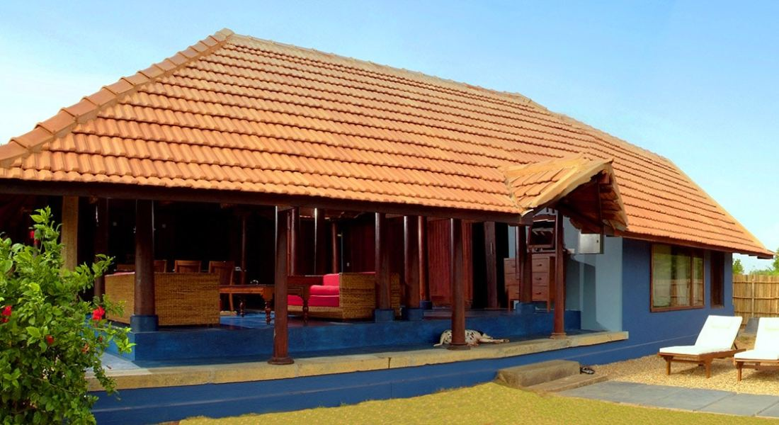 Traditional Kerala wood house art Dune Eco Village and Spa