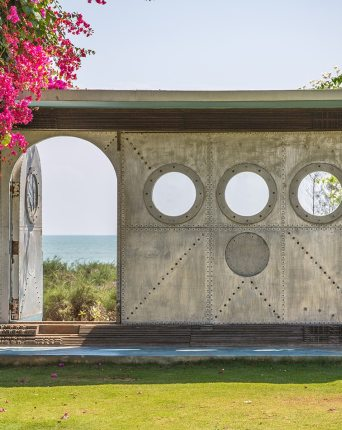 Gateway to the beach at Dune Eco Village and Spa