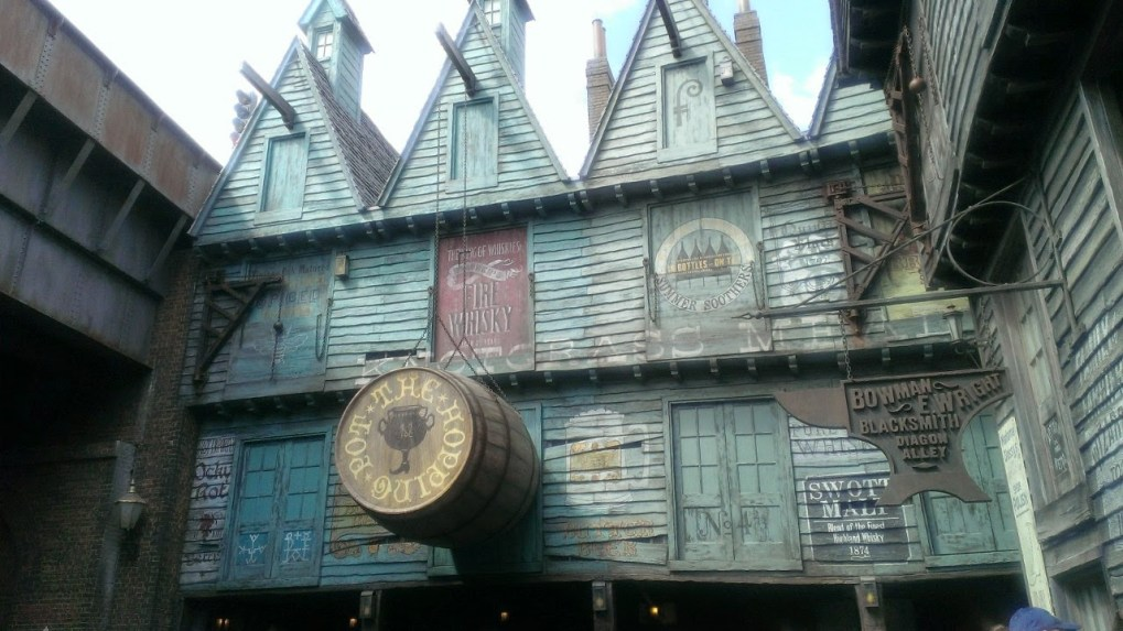 Harry Potter at Universal Studios